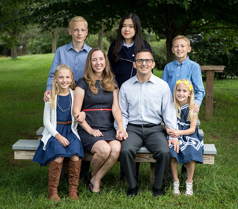 Dr. Dernlan and Family